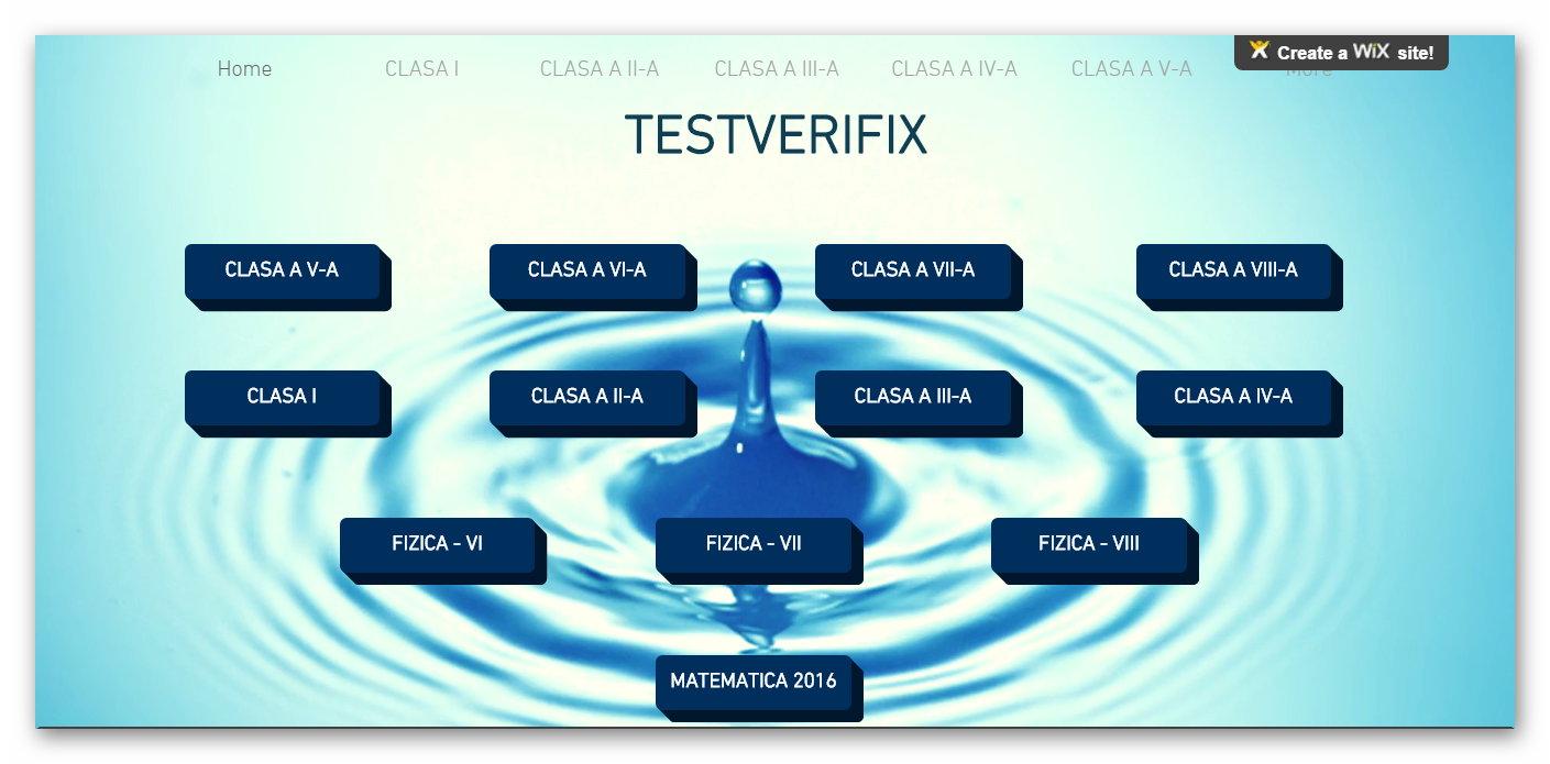 Teste pentru cei mici …