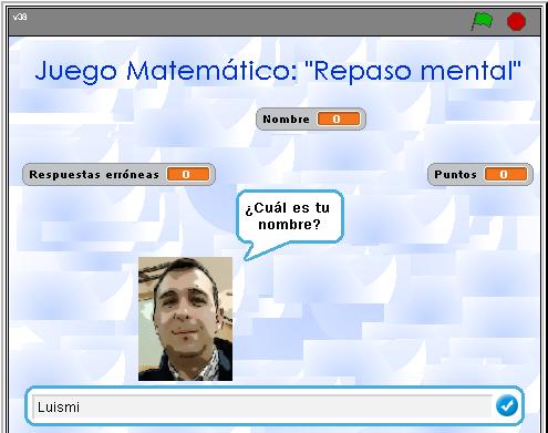 Juego Matemático: 'Repaso Mental' #Scratch #PDI #calculomental