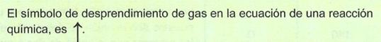 Desprendimiento de gas