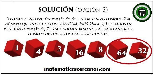 Solución de Serie de dados III b