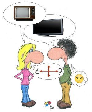 Laura, Juan y el televisor