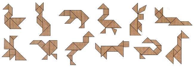 Figuras del Tangram