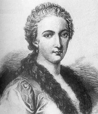 Retrato de Maria Gaetana Agnesi