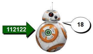BB-8 código 1