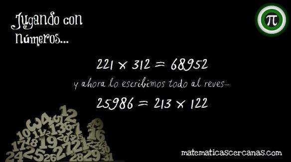 Jugando Con Números Xvi Una Igualdad Numérica Palíndroma