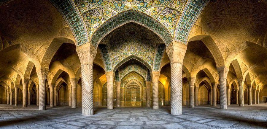 Vakil mosque panorama