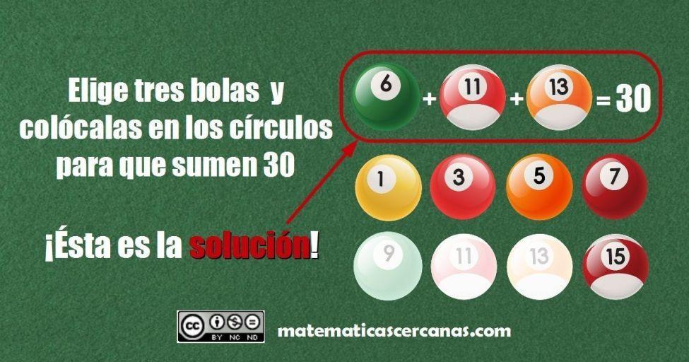 La solución del acertijo de las tres bolas de billar que ...