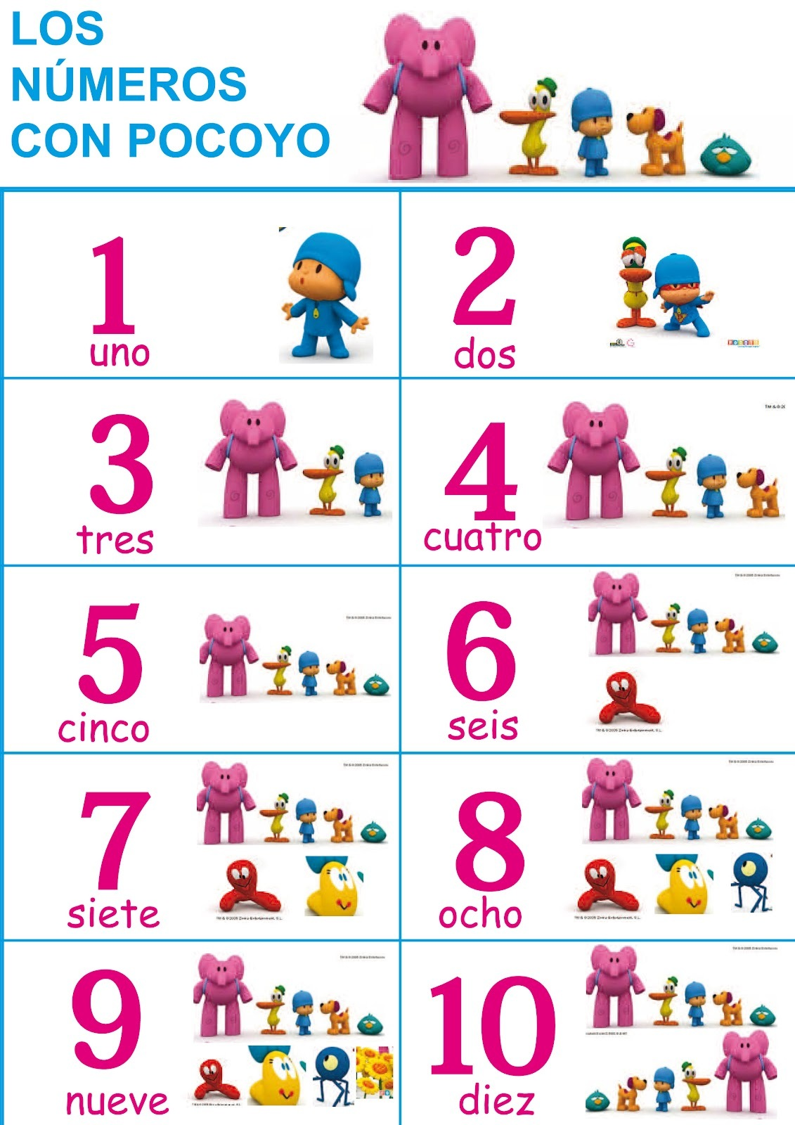 Images About Numeros