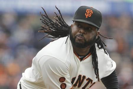 Johnny Cueto (Ben Margot/Associated Press)