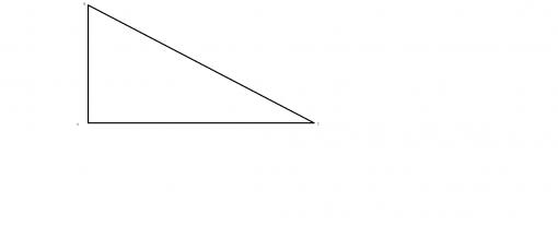 Triunghiul dreptunghic. Teorema lui Pitagora