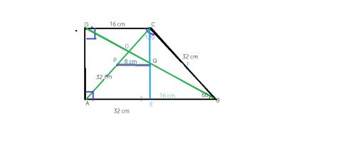 Problema rezolvata linia mijlocie intr-un trapez