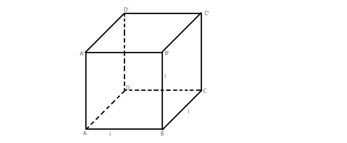 cum calculam aria laterala aria total si volumul unui cub