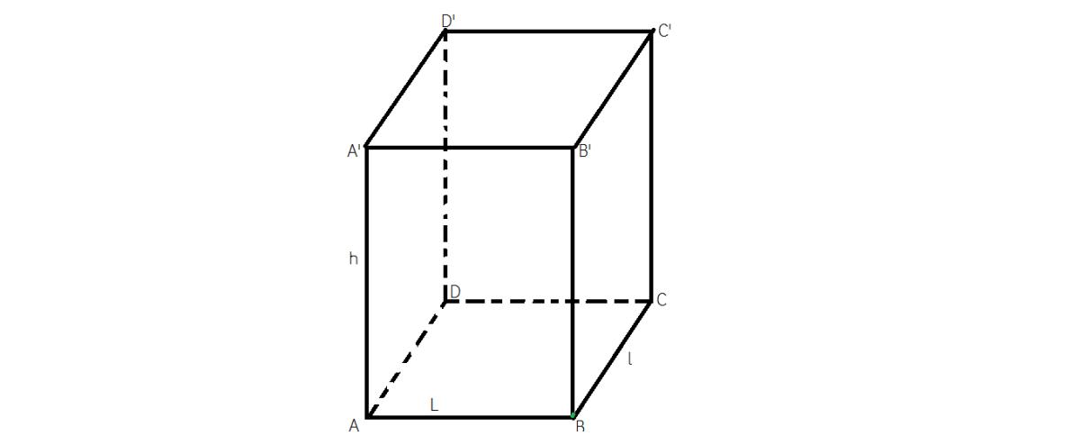 Cum aflam aria laterala, aria totala si volumul pentru un paralelipipedul dreptnghic