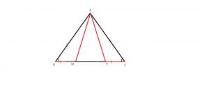Cum aratam ca un triunghi este isoscel?