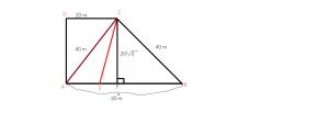 cum calculam aria unui trapez dreptunghic