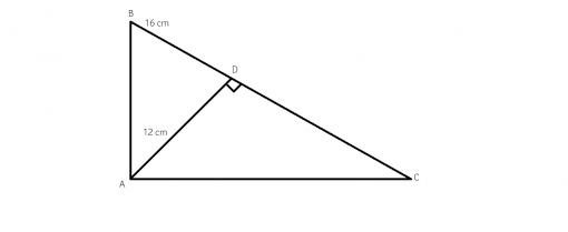 cum aflam inaltimea intr-un triunghi dreptunghic