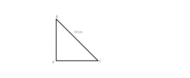cum aflam catetele intr-un triunghi dreptunghic isoscel  daca stim ipotenuza