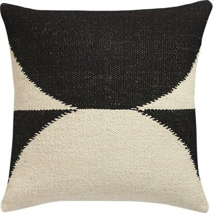 CB2 reflect throw pillow