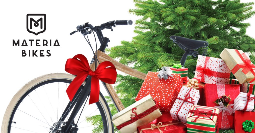 wooden bike as a gift