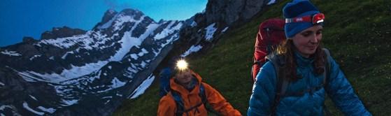 En Alpinismo no te la juegues utiliza siempre linterna frontal de primera calidad