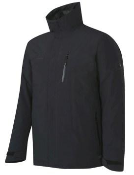 La Trovat Tour 2 in 1 HS Jacket Men combina una chaqueta exterior a prueba de clima con una chaqueta interior aislante