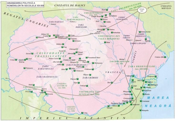 006. ORGANIZAREA POLITICA A ROMANILOR IN SECOLELE XII - XIII