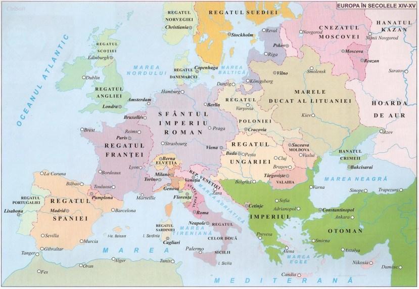 008. EUROPA IN SECOLELE XIV - XV