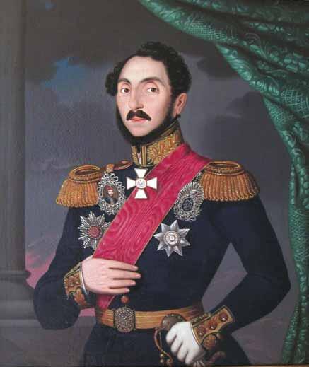 Paulus_Petrovitz_-_Domnitorul_Gheorghe_Bibescu