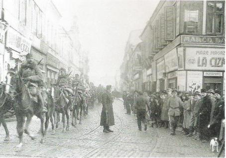 Falkenhayn's_cavalry_entering_Bucuresti_on_December_6,_1916