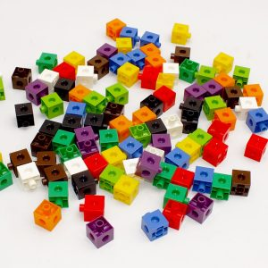 Cuburi colorate asamblabile 100 buc. 35
