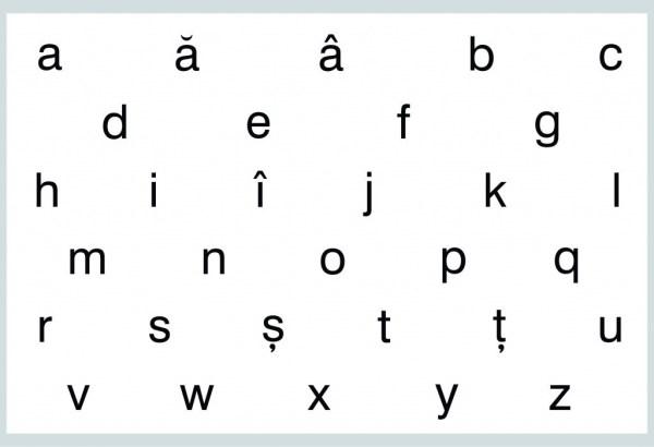 Literele - mici, de tipar 3