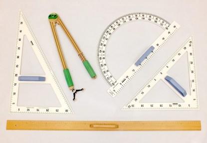 Set instrumente pentru tabla (5 buc.)