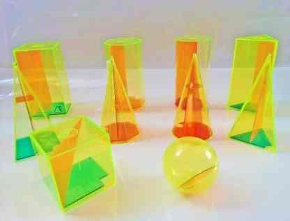 Trusa figuri geometrice pentru profesor
