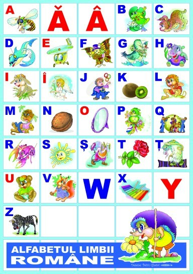 Alfabetul limbii romane 3