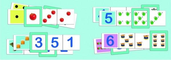 Joc logic - Numere si cantitati 7