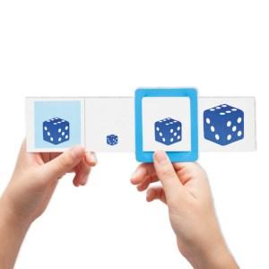 Joc logic - Forme geometrice, culori, marimi 7