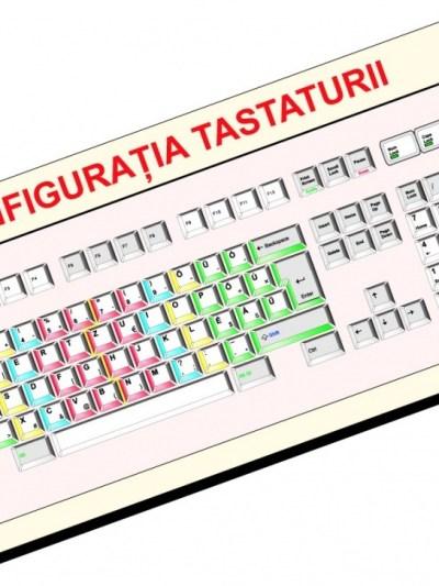 Tastatura-plansa demonstrativa