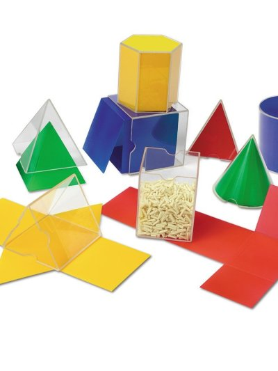 Set corpuri geometrice / forme desfasurate
