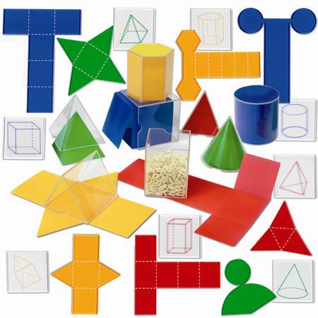 Set corpuri geometrice / forme desfasurate 8