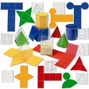 Set corpuri geometrice / forme desfasurate 16
