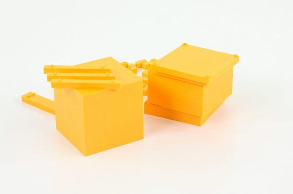 Sistemul zecimal - cuburi baza 10 interconectabile 5