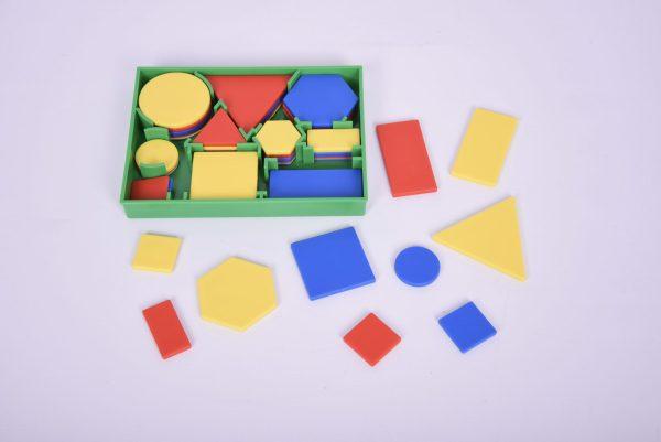 Forme geometrice plane plastic 6
