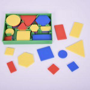 Forme geometrice plane plastic 10
