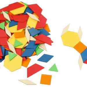 Forme geometrice plane, 250 piese 15