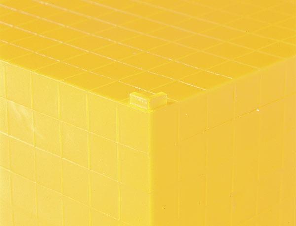 Sistemul zecimal - cuburi baza 10 interconectabile 10