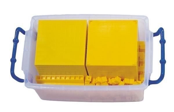 Sistemul zecimal - cuburi baza 10 interconectabile 13