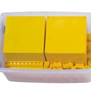 Sistemul zecimal - cuburi baza 10 interconectabile 25