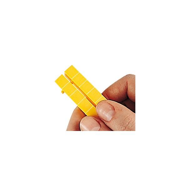 Sistemul zecimal - cuburi baza 10 interconectabile 8
