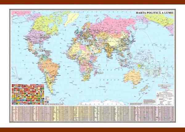 Harta politica a lumii 3
