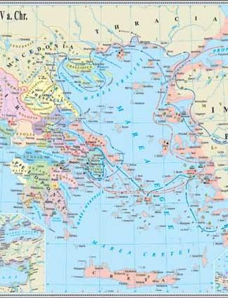 Lumea greaca in antichitate in sec. V a. Chr.